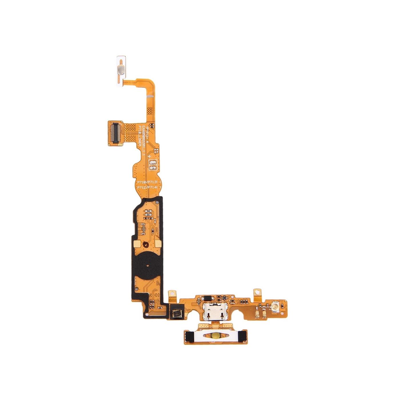 Conector de carga plana y flex para el muelle de carga LG Optimus L7 II / P710