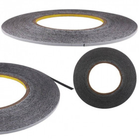 Double Sided Adhesive Sticker Tape for iPhone / Samsung / HTC Mobile Phone Touch Screen Repair, Length: 50m(Black)