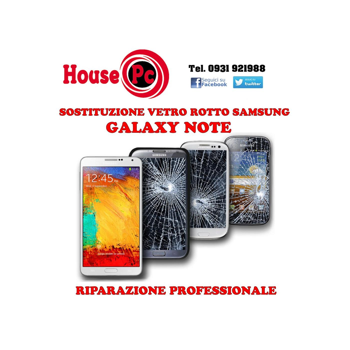 Ersatzglas gebrochen Galaxy Note 2 - 3 - 4 Regeneration Reparatur LCD-Display