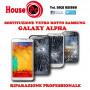 Reemplazo de cristal roto Galaxy Alpha G850F reparación pantalla LCD de regeneración