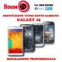 Sostituzione vetro rotto Galaxy J5 2016 - 2017 riparazione rigenerazione display LCD