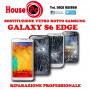 Sostituzione vetro rotto Galaxy S6 EDGE riparazione display LCD
