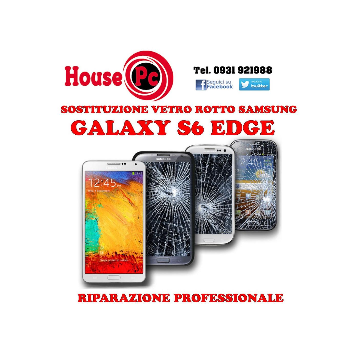 Replacement broken glass Galaxy S6 EDGE and EDGE PLUS LCD display repair