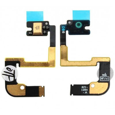 Microphone pour apple ipad 4 version wifi remplacement cellulaire plat câble flexible