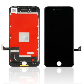 Touch screen lcd display frame per apple iphone 8 nero vetro schermo + Kit