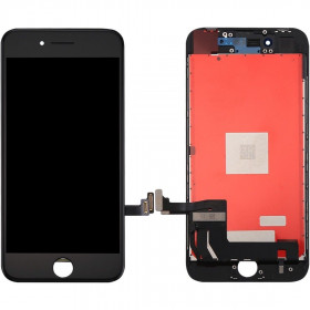 Touch screen + vetro + schermo lcd display assemblato per iphone 6 4.7 nero