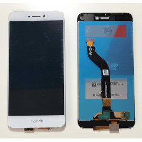 TOUCH SCREEN VETRO Bianco + LCD DISPLAY Per Huawei P8 Lite 2017 PRA-LX1 LA1 LX3