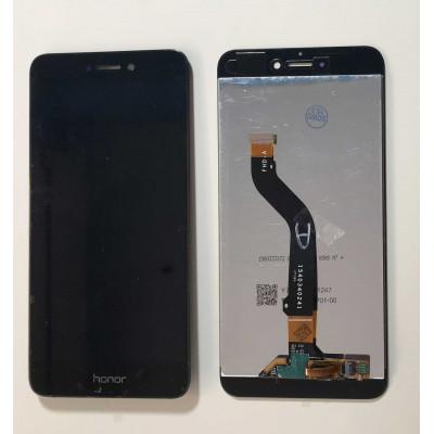TOUCH SCREEN VETRO nero LCD DISPLAY Per Huawei P8 Lite 2017 PRA-LX1 LA1 LX3