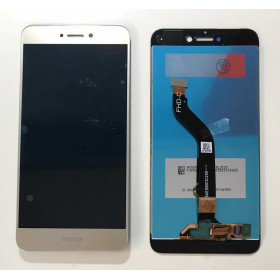 TOUCH SCREEN VETRO Oro LCD DISPLAY Per Huawei P8 Lite 2017 PRA-LX1 LA1 LX3