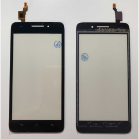TOUCH SCREEN Per HUAWEI ASCEND G620S VETRO Digitizer NERO VETRINO
