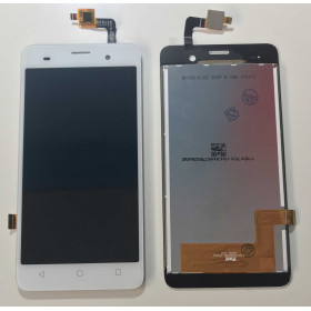 TOUCH SCREEN VETRO + LCD DISPLAY ASSEMBLATI PER WIKO JERRY BIANCO