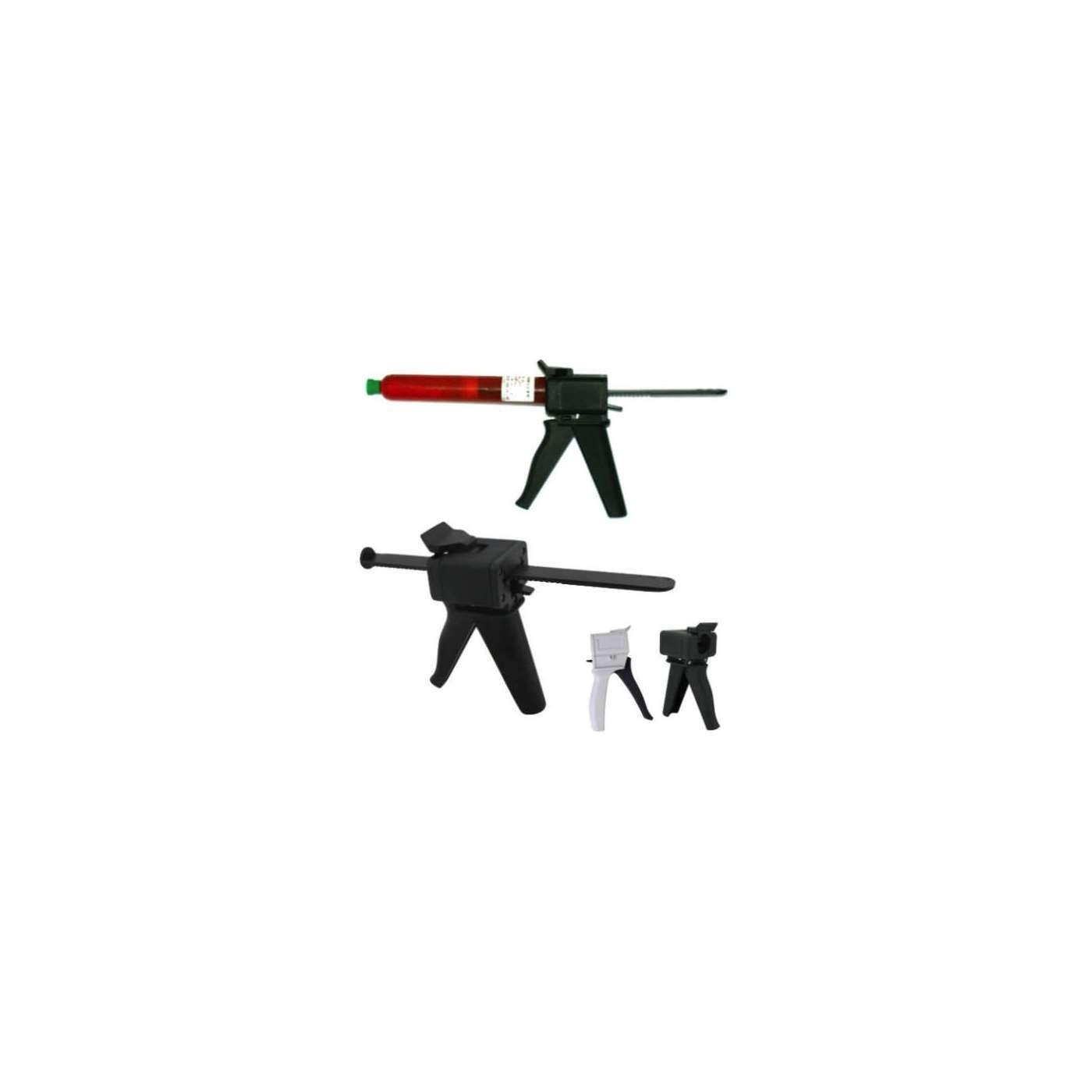 Pistola dispenser fissaggio colla UV loca installazione collante