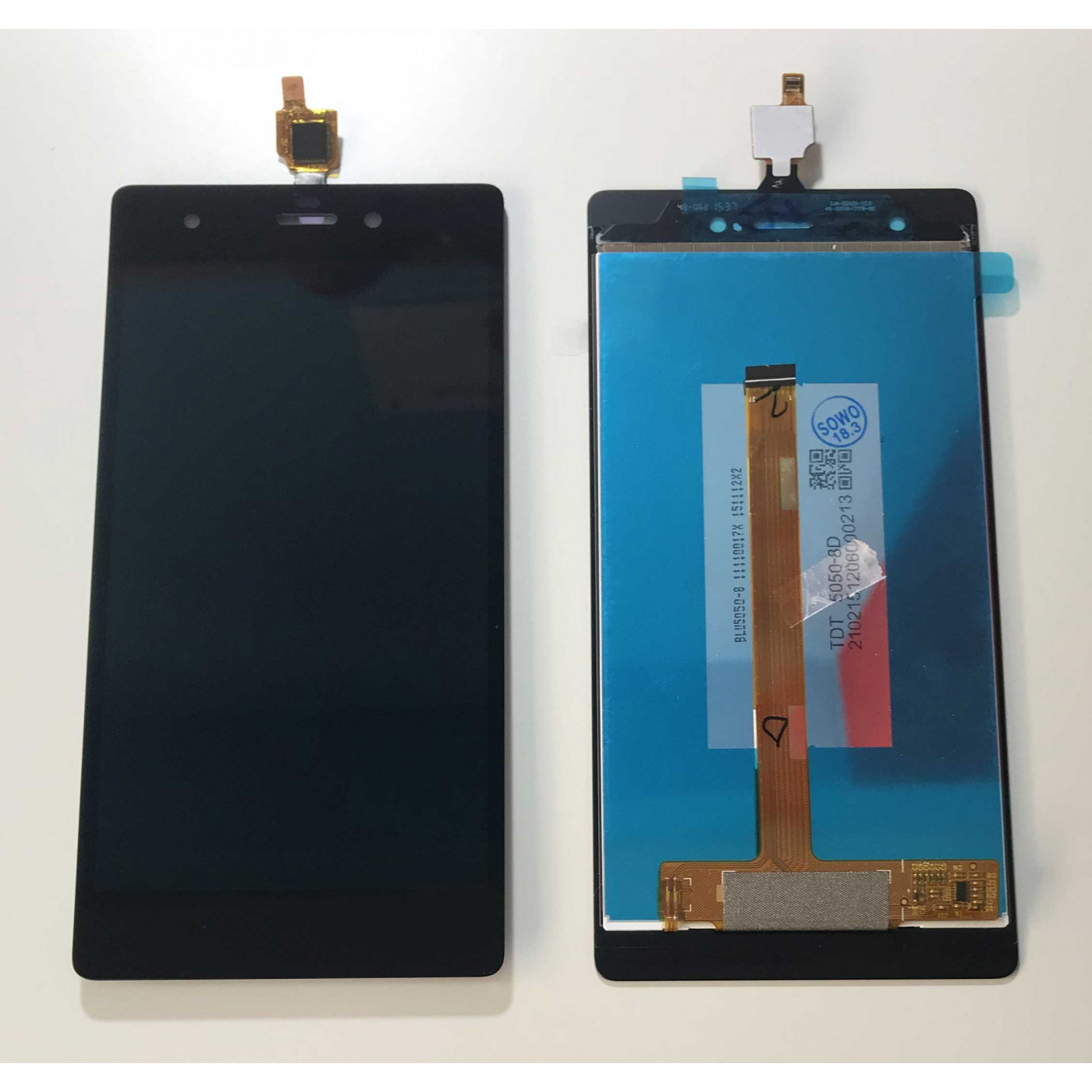 PANTALLA TÁCTIL DE CRISTAL + PANTALLA LCD ENSAMBLADA Wiko Pulp 4G 5.0 Negro