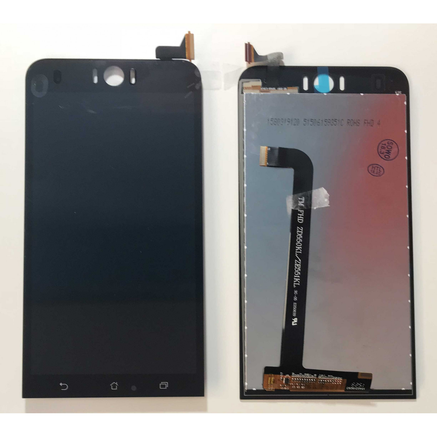 TOUCH SCREEN VETRO + LCD DISPLAY ASUS ZENFONE 2 Selfie 4G ZD551KL Z00UD black