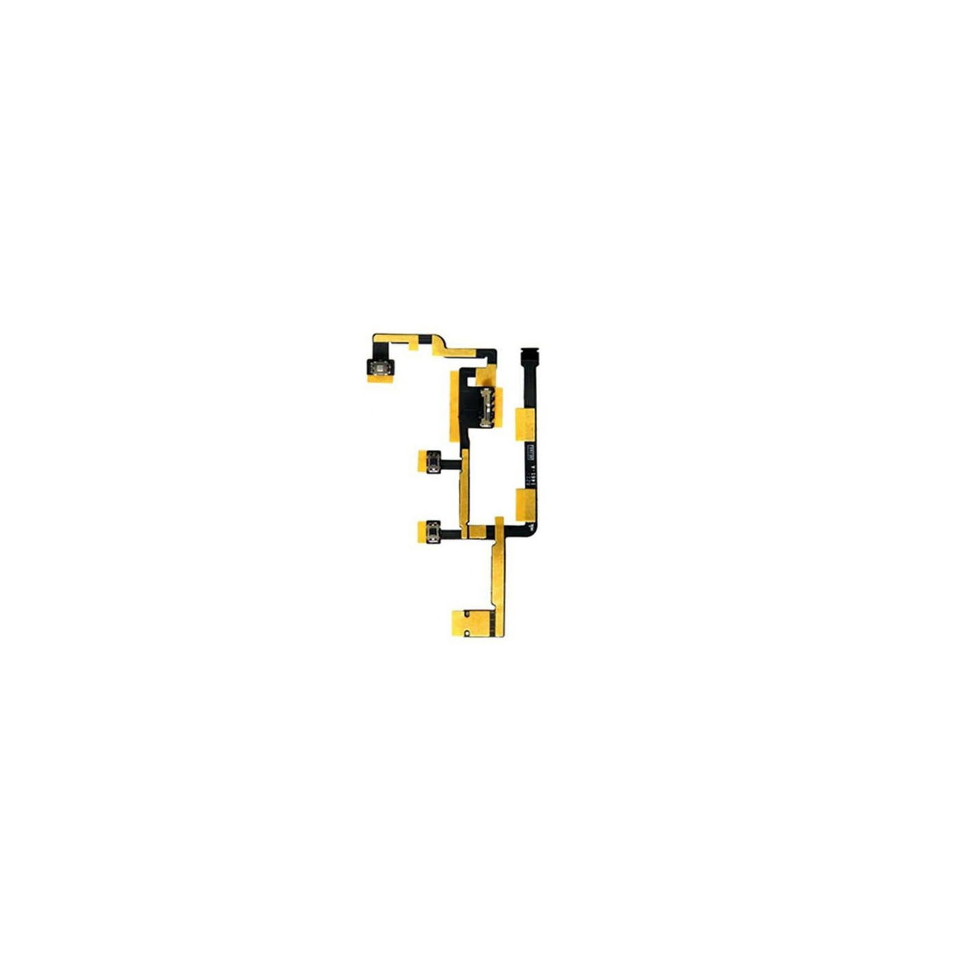 Pulsante power on off per apple ipad 2 CDMA flex cable tasto ricambio MFC-5111