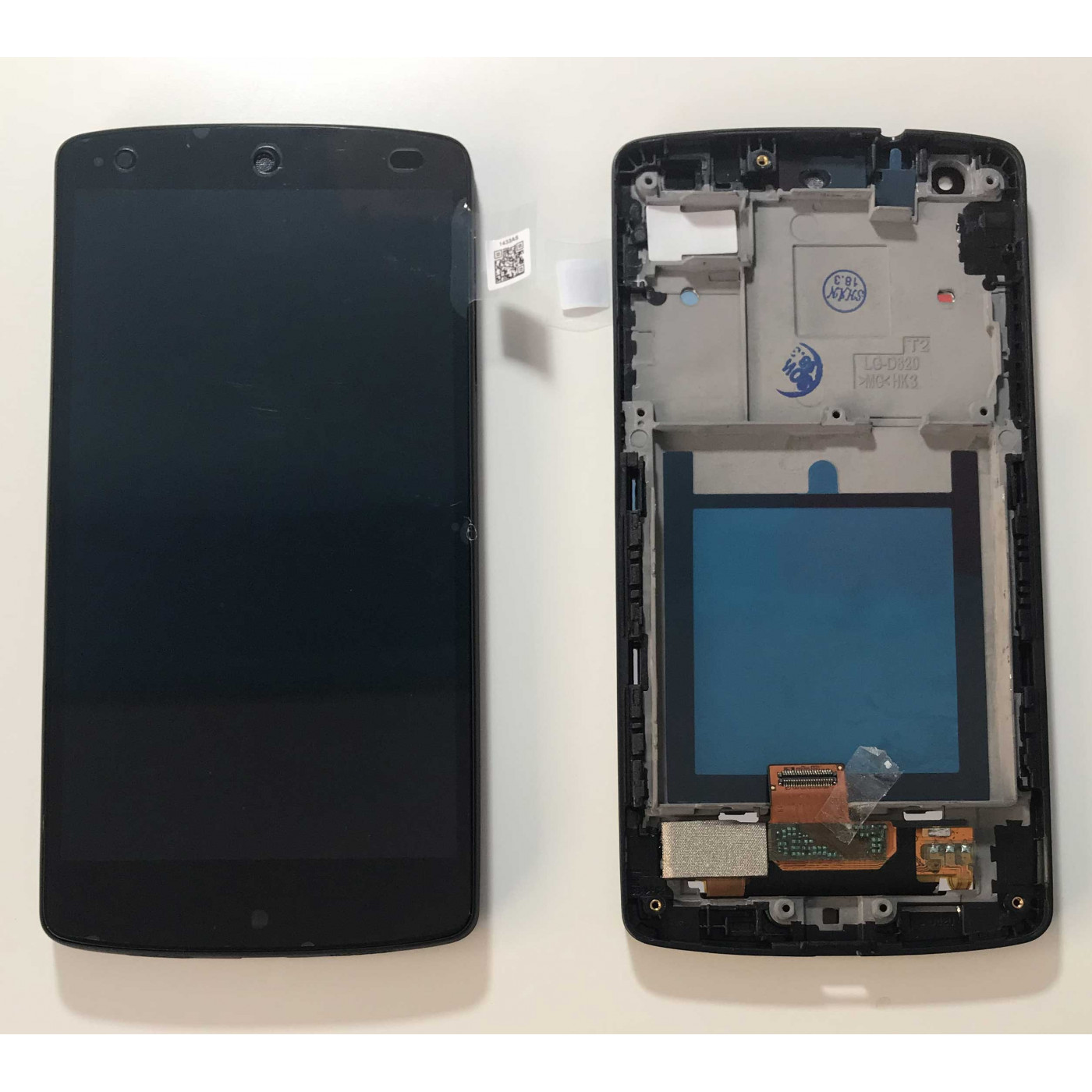 TOUCH SCREEN + LCD + FRAME LG Google Nexus 5 D820 D821