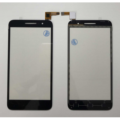 TOUCH SCREEN Alcatel Vodafone Smart Prime 6 VF-895N Glas Digitizer Schwarz Glasscheibe
