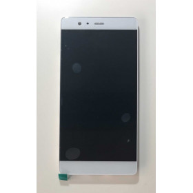 TOUCH SCREEN VETRO LCD DISPLAY FRAME Assemblati Per Huawei P9 PLUS VIE-L09 bianco