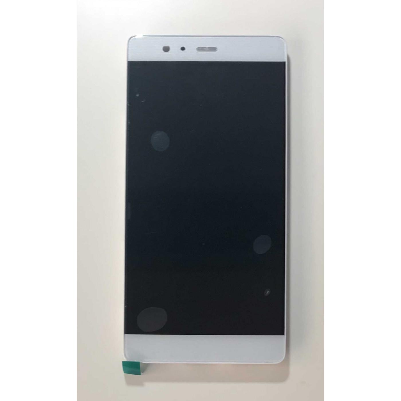 ECRAN TACTILE LCD VERRE CADRE D'AFFICHAGE Assemblé Pour Huawei P9 PLUS VIE-L09 blanc
