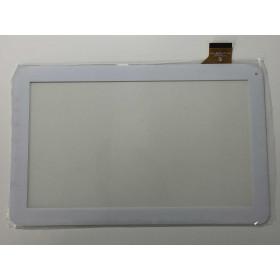 Pantalla táctil Mediacom I10A3G M-MPI10A3G SmartPad i10 3G Blanco Cristal