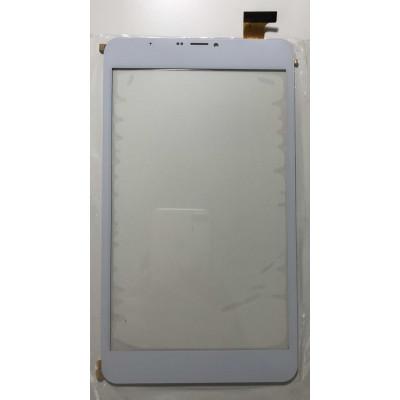 Verre D'Écran Tactile Pour Mediacom 8S2B3G Smartpad M-Mp8S2B3G Blanc