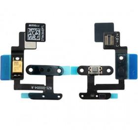 Pulsante tasto power per apple ipad air 2 microfono trasmettitore telefonico