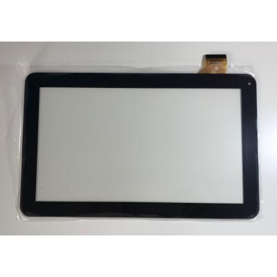 ÉCRAN TACTILE Digitizer Majestic TAB-302 3G GLASS 10.1 Noir