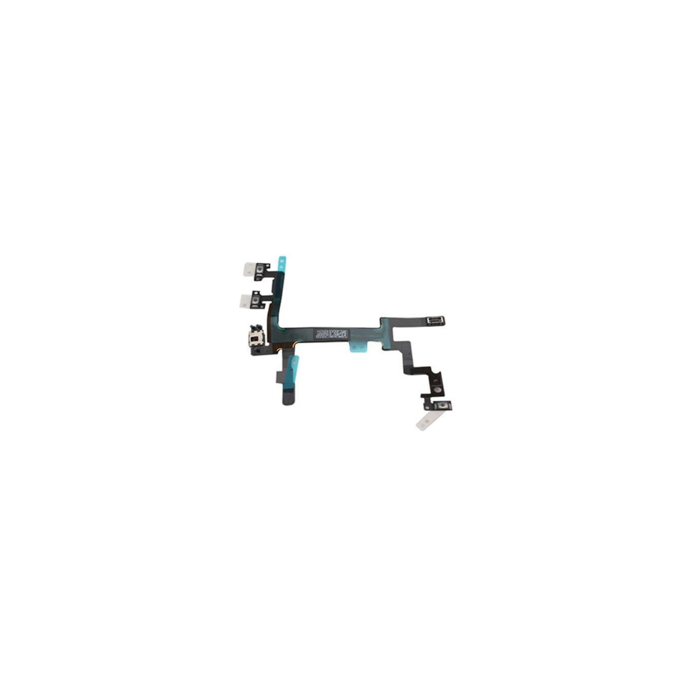 Boutons de volume muet d'alimentation pour apple iphone 5 bouton interrupteur bouton câble flexible