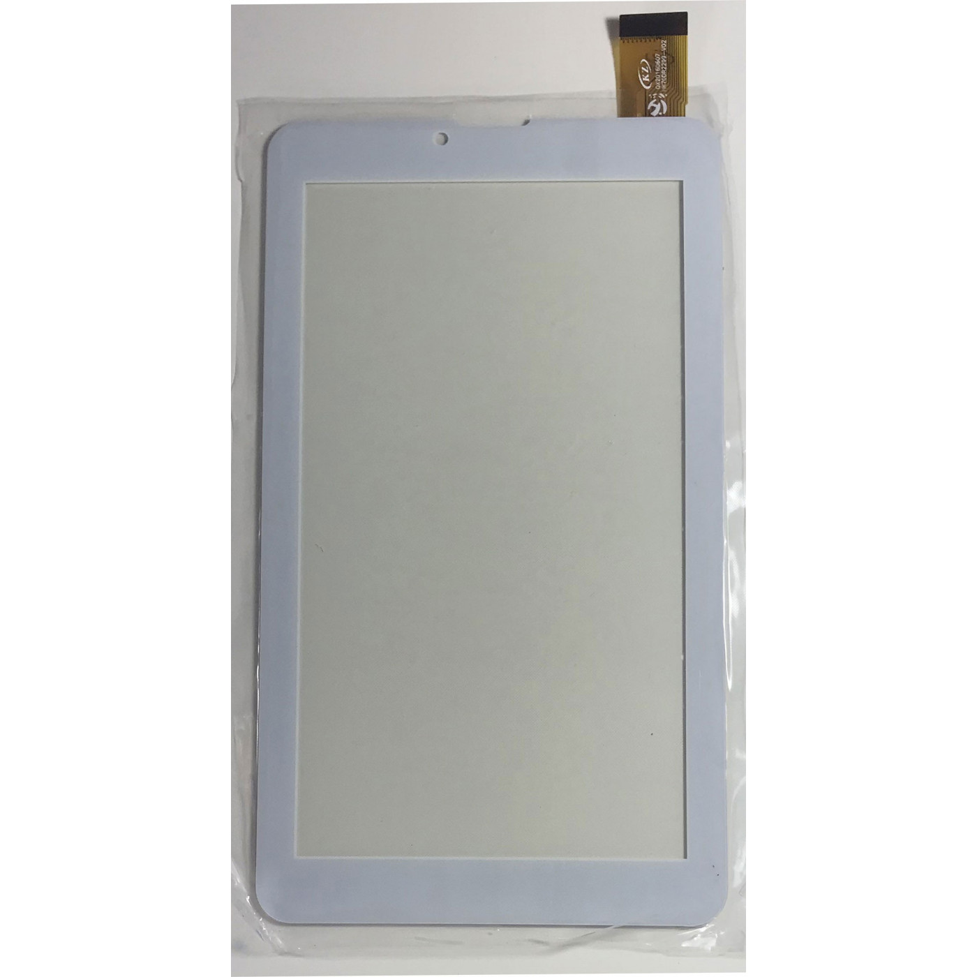 TOUCH SCREEN Per Majestic TAB-486 HD 3G VETRO Tablet Digitizer 7.0 Bianco