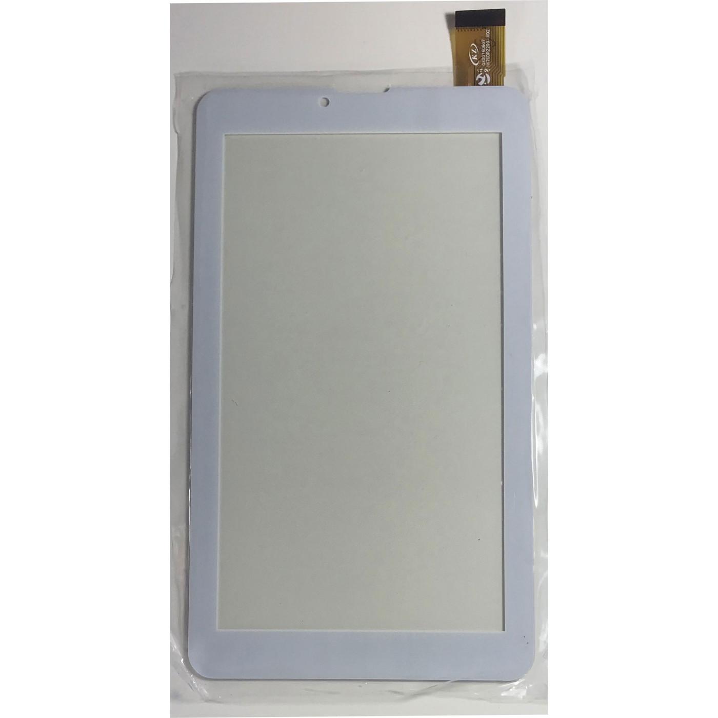 PANTALLA TÁCTIL Para el digitalizador de tableta Majestic TAB-386 HD 3G GLASS 7.0 blanco