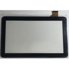 TOUCH SCREEN per Majestic TAB 411 3G VETRO Tablet Digitizer 10.1 Nero