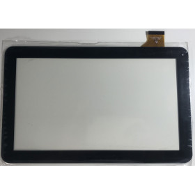 TOUCH SCREEN per Majestic TAB 411-N 3G VETRO Tablet Digitizer 10.1 Nero
