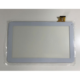 TOUCH SCREEN MAJESTIC TAB 301 3G VETRO Tablet Digitizer 10.1 Bianco