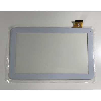 Vetro Touch Screen Per Majestic Tab 301 3G Tablet 10.1 Bianco