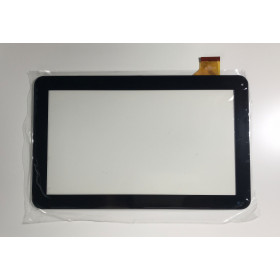 TOUCH SCREEN MAJESTIC TAB 301 3G VETRO Tablet Digitizer 10.1 Nero