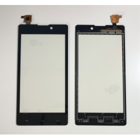 TOUCH SCREEN GLASS FOR ARCHOS 50 NEON BLACK SLIDE