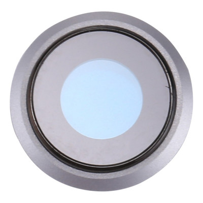 Camera lens Iphone 8 COVERAGE SILVER + GLASS LENS FOR REAR CAMERA