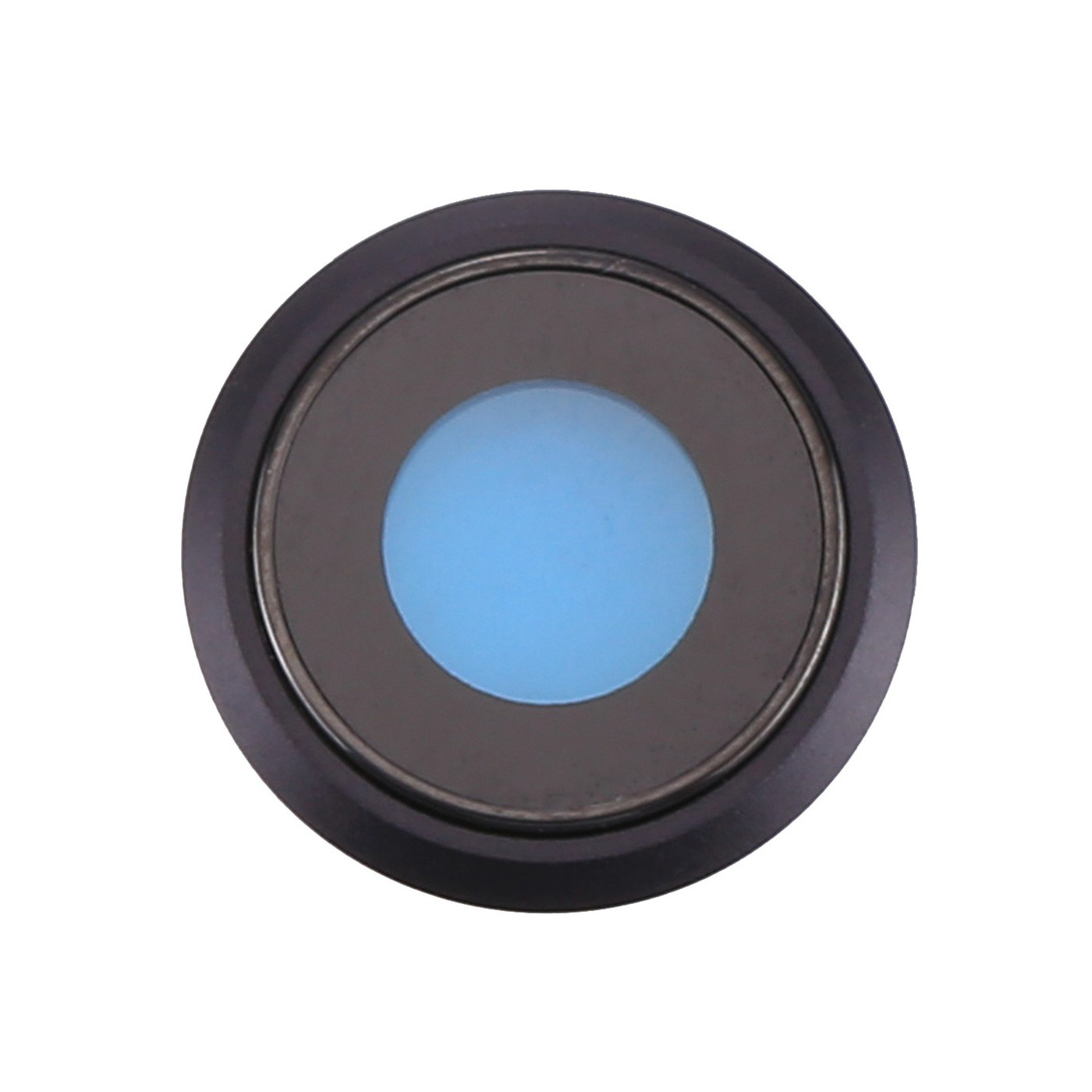Kameraobjektiv IPHONE 8 BLACK COVER + GLAS OBJEKTIV FÜR HINTERE KAMERA