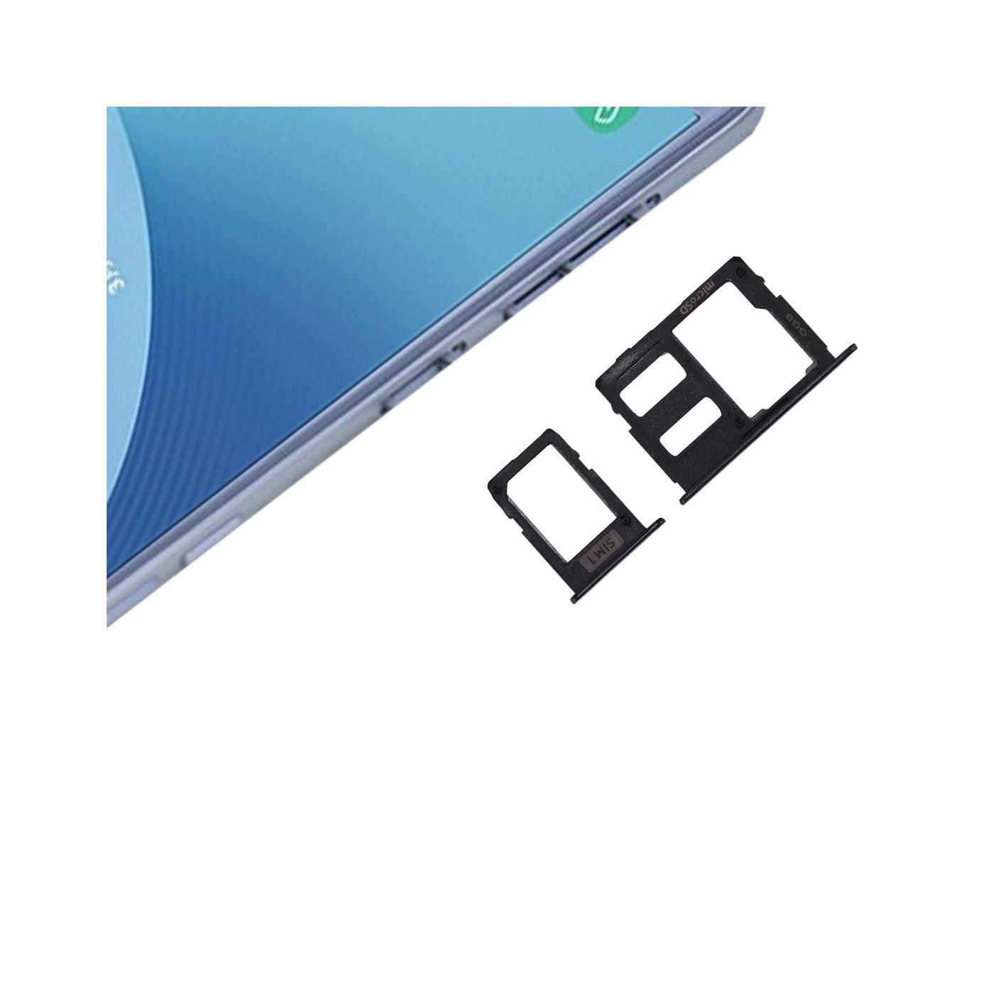 Porta SIM Singola + Scheda SD Nero J3 - J5 - J7 2017 Slot Slitta