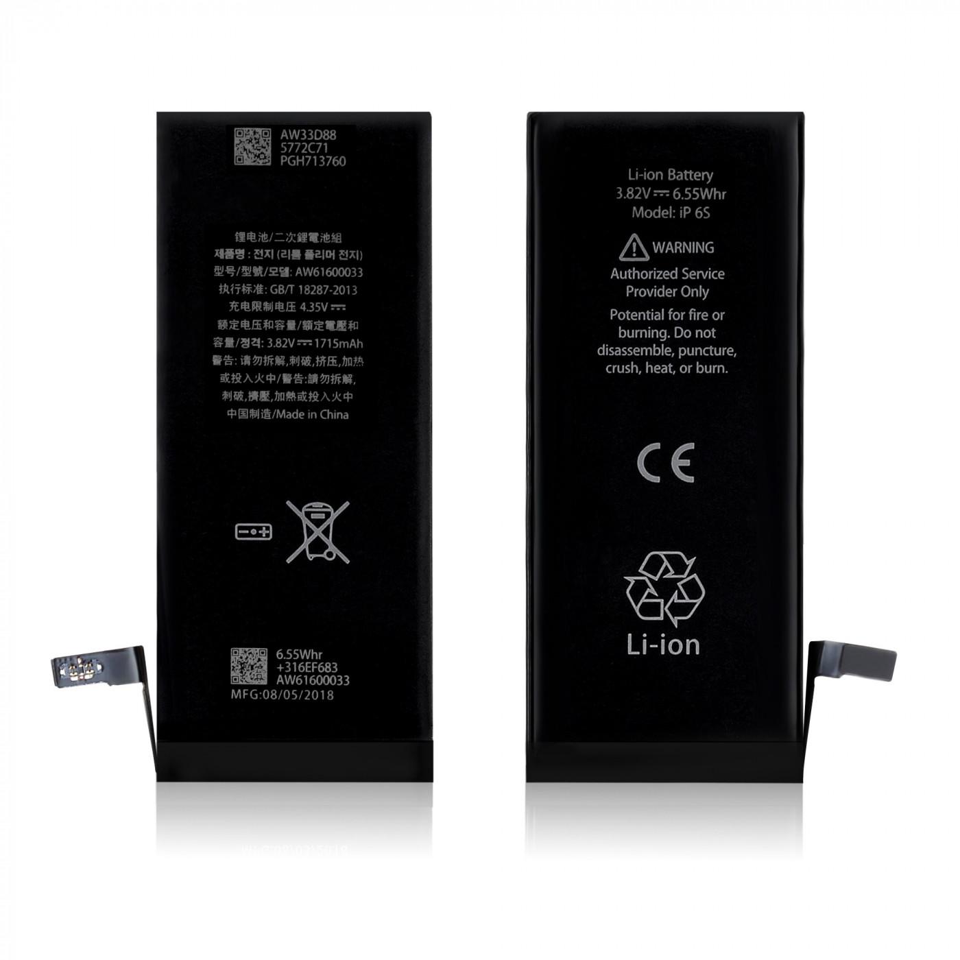 Batería de repuesto para apple iphone 6S 1715 mAh