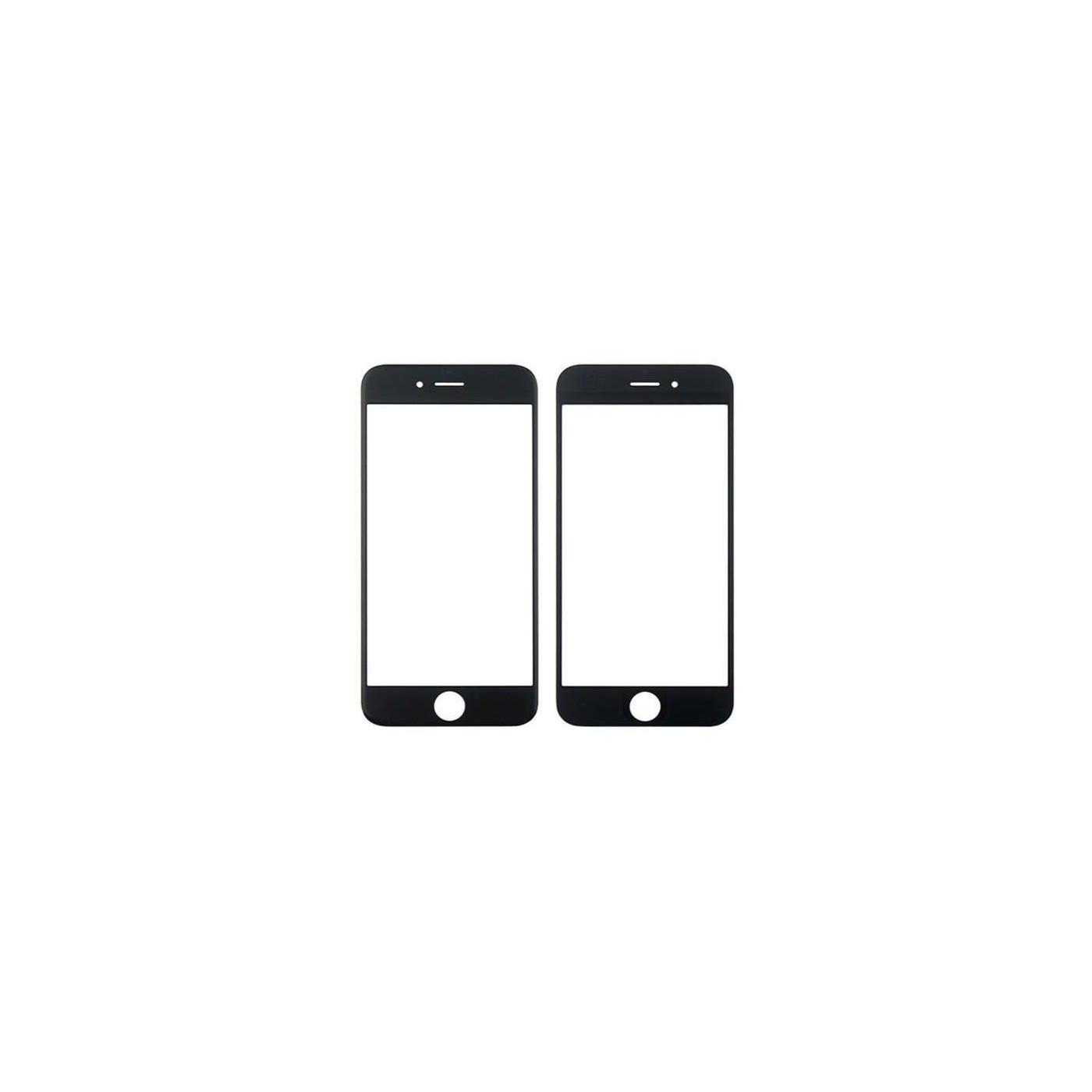 Vitre frontale en verre pour Apple iPhone 6 - Ecran tactile noir 6s