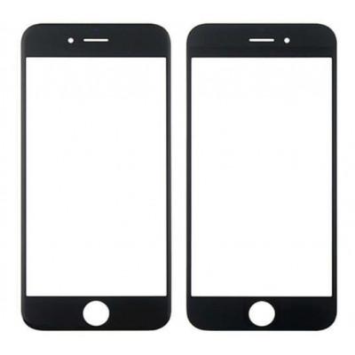 Cristal De Pantalla Táctil Frontal Para Apple Iphone 6 - 6S Negro