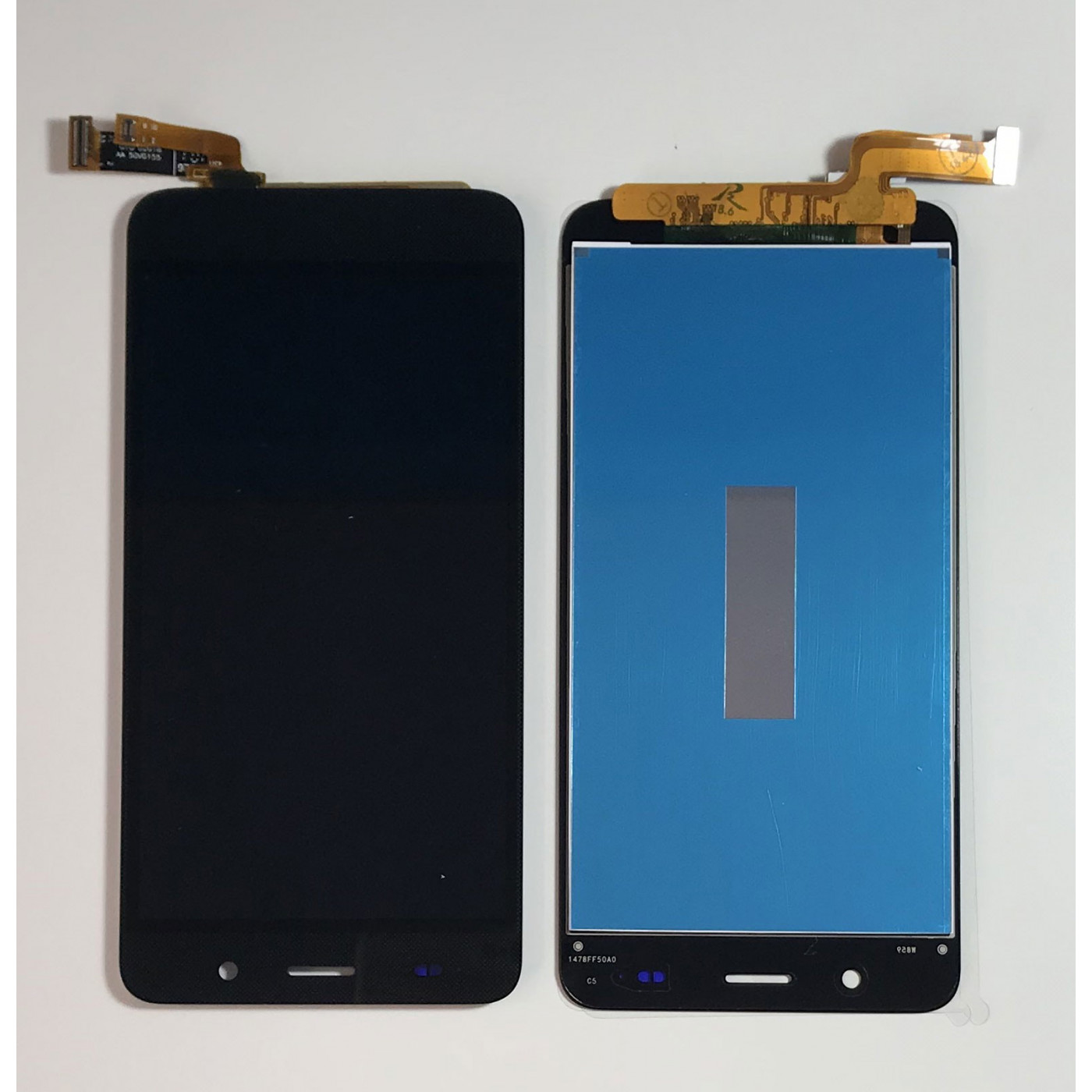 TOUCH SCREEN VETRO + LCD DISPLAY ASSEMBLATI Per Huawei Ascend Y6 NERO