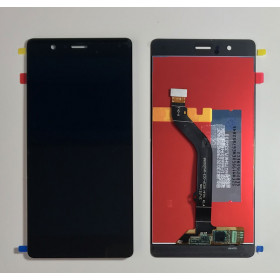 TOUCH SCREEN VETRO + LCD DISPLAY per Huawei P9 Lite NERO VNS L-31