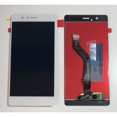TOUCH SCREEN VETRO + LCD DISPLAY per Huawei P9 Lite BIANCO VNS L-31