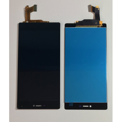 TOUCH SCREEN VETRO + LCD DISPLAY Huawei P8 5.2 Nero GRA-L09