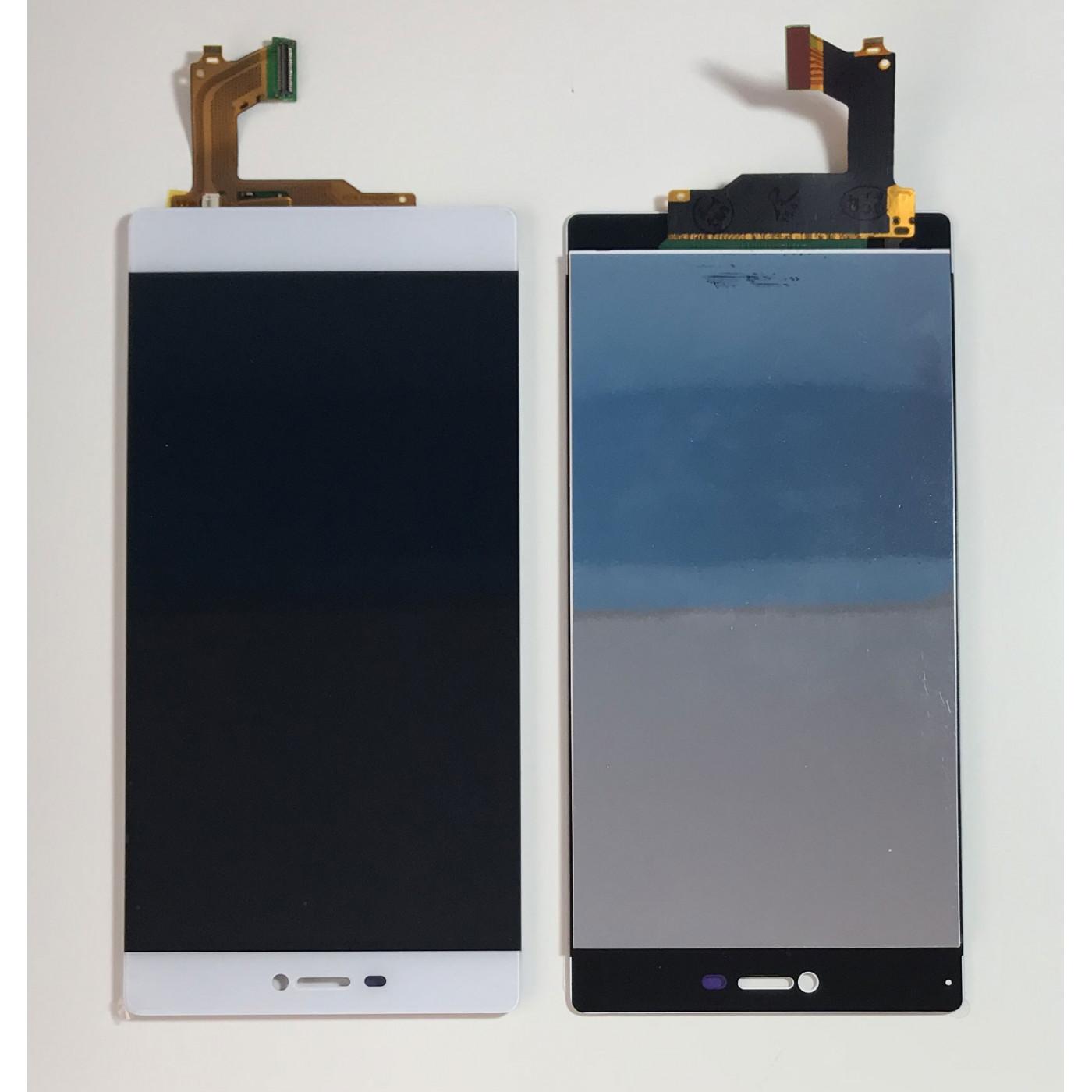 LCD-ANZEIGE für Huawei P8 5.2 WHITE GRA-L09 BERÜHRUNGSBILDSCHIRMGLAS