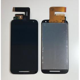 TOUCH SCREEN GLASS + LCD DISPLAY Motorola Motion G3 XT1541 XT1540 XT1550 Nero