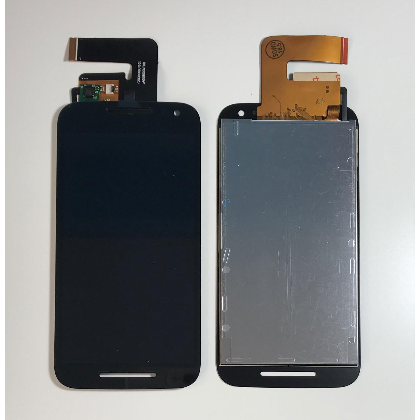 PANTALLA LCD para Motorola Moto G3 XT1541 XT1540 XT1550 VIDRIO PANTALLA TÁCTIL Negro
