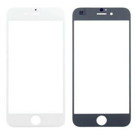 Glass front glass for apple iphone 6 - 6s white touch screen